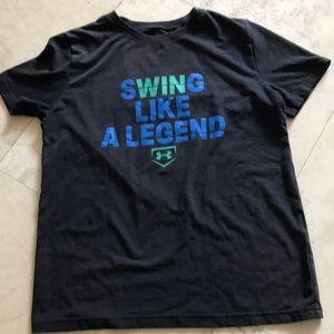 Other - Ua boys swing like a legend shirt